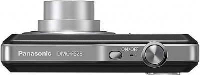Компактный фотоаппарат Panasonic LUMIX DMC-FS28EE-K - вид сверху