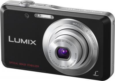 Компактный фотоаппарат Panasonic LUMIX DMC-FS28EE-K - общий вид