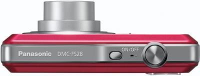 Компактный фотоаппарат Panasonic LUMIX DMC-FS28EE-P - вид сверху