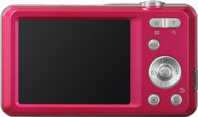 Компактный фотоаппарат Panasonic LUMIX DMC-FS28EE-P - общий вид