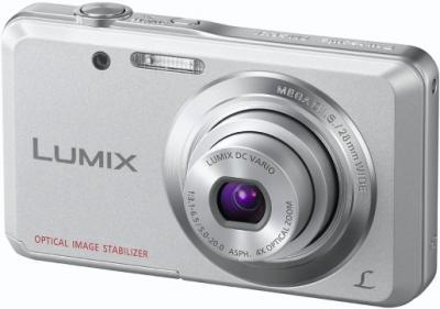 Компактный фотоаппарат Panasonic LUMIX DMC-FS28EE-S - общий вид