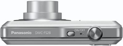 Компактный фотоаппарат Panasonic LUMIX DMC-FS28EE-S - вид сверху
