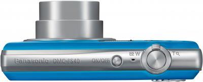 Компактный фотоаппарат Panasonic LUMIX DMC-FS40EE-A - вид сверху