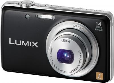 Компактный фотоаппарат Panasonic LUMIX DMC-FS40EE-K - общий вид