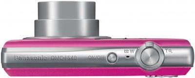 Компактный фотоаппарат Panasonic LUMIX DMC-FS40EE-P - вид сверху