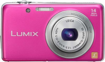 Компактный фотоаппарат Panasonic LUMIX DMC-FS40EE-P - общий вид