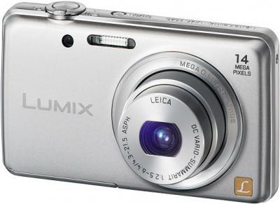 Компактный фотоаппарат Panasonic LUMIX DMC-FS40EE-S - общий вид