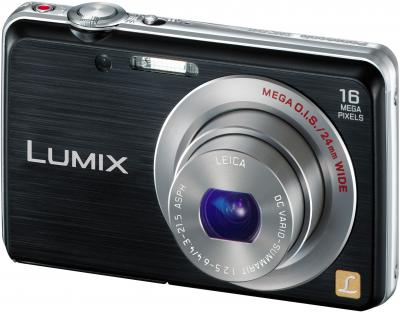 Компактный фотоаппарат Panasonic LUMIX DMC-FS45EE-K - общий вид