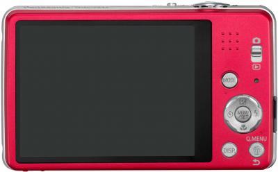 Компактный фотоаппарат Panasonic LUMIX DMC-FS45EE-R - общий вид