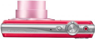 Компактный фотоаппарат Panasonic LUMIX DMC-FS45EE-R - вид сверху