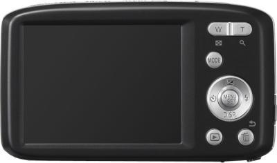 Компактный фотоаппарат Panasonic LUMIX DMC-S2EE-K - вид сзади