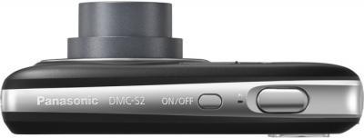 Компактный фотоаппарат Panasonic LUMIX DMC-S2EE-K - вид сверху