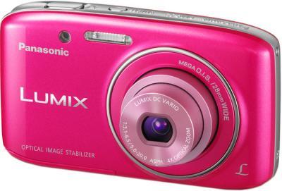 Компактный фотоаппарат Panasonic LUMIX DMC-S2EE-P - общий вид