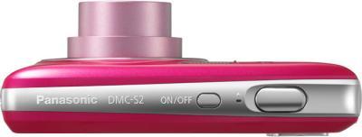 Компактный фотоаппарат Panasonic LUMIX DMC-S2EE-P - вид сверху