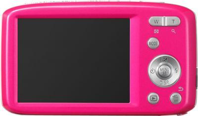 Компактный фотоаппарат Panasonic LUMIX DMC-S2EE-P - вид сзади