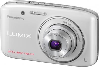 Компактный фотоаппарат Panasonic LUMIX DMC-S2EE-W - общий вид
