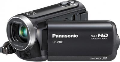 Видеокамера Panasonic HC-V100EE-K - общий вид