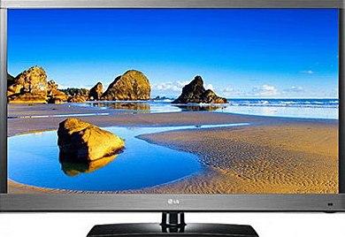 Телевизор LG 42LM580S - спереди