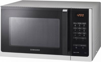 Микроволновая печь Samsung PG836R-S - вполоборота