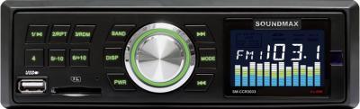 Бездисковая автомагнитола SoundMax SM-CCR3033 - общий вид