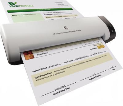 Портативный сканер HP Professional 1000 Mobile (L2722A) - общий вид