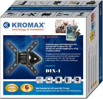 Кронштейн для телевизора Kromax Dix-1 - упаковка