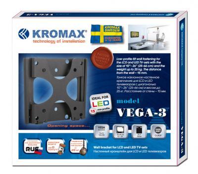 Кронштейн для телевизора Kromax Vega-3 - упаковка