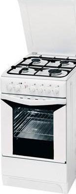 Кухонная плита Indesit K3G207SW/RU - вид спереди