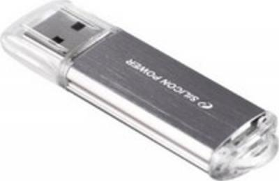 Usb flash накопитель Silicon Power Ultima II I-Series Silver 8 Gb (SP008GBUF2M01V1S) - общий вид