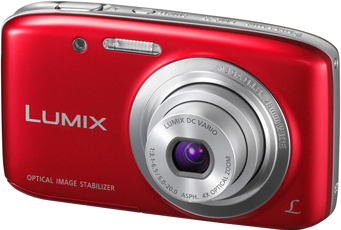 Компактный фотоаппарат Panasonic Lumix DMC-S5EE-R (Red) - общий вид