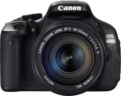 Зеркальный фотоаппарат Canon EOS 600D B Kit 18-135mm IS - общий вид