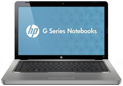 Ноутбук HP G62-b74SR (XU609EA) - спереди