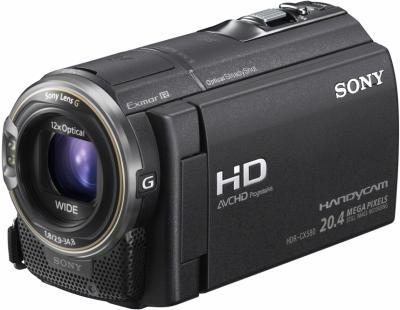 Видеокамера Sony HDR-CX580 - общий вид