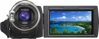 Видеокамера Sony HDR-CX580 - вид спереди