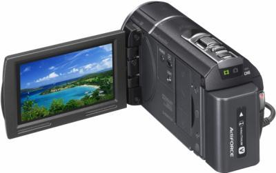 Видеокамера Sony HDR-CX580 - дисплей