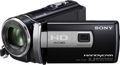 Видеокамера Sony HDR-PJ200E - общий вид