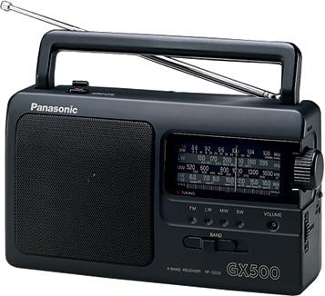 Радиоприемник Panasonic RF-3500E9-K - общий вид