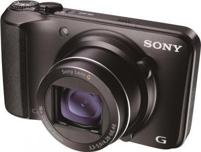 Компактный фотоаппарат Sony Cyber-shot DSC-H90 Black - общий вид