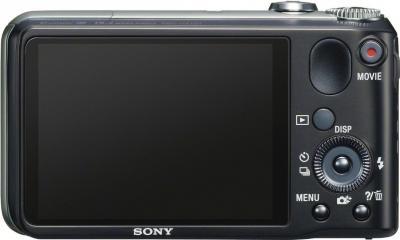 Компактный фотоаппарат Sony Cyber-shot DSC-HX10V Black - вид сзади