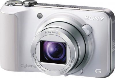Компактный фотоаппарат Sony Cyber-shot DSC-HX10V White - общий вид
