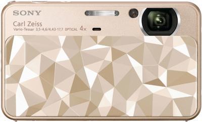 Компактный фотоаппарат Sony Cyber-shot DSC-T110D - вид спереди