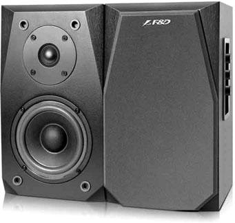 Мультимедиа акустика F&D R223 (черный) - Общий вид