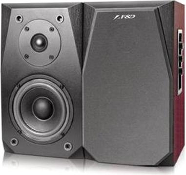 Мультимедиа акустика F&D R223 (вишня) - Общий вид