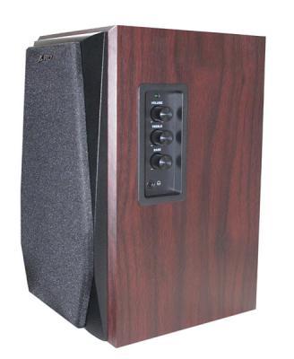 Мультимедиа акустика FnD R223 (вишня) - Общий вид