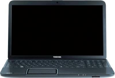 Ноутбук Toshiba Satellite C850-B6K - фронтальный вид
