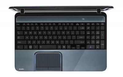 Ноутбук Toshiba Satellite L855-B2M (PSKACR-015013RU) - клавиатура