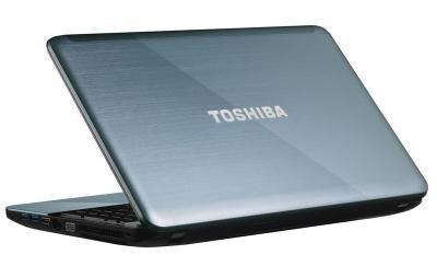 Ноутбук Toshiba Satellite L855-B2M (PSKACR-015013RU) - вид сзади