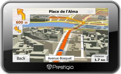 GPS навигатор Prestigio GeoVision 4500BT - общий вид