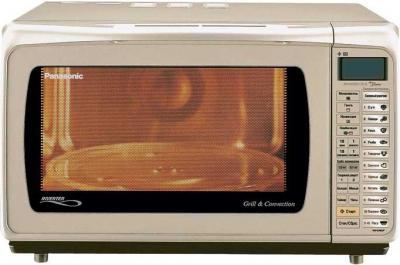 Микроволновая печь Panasonic NN-C785JFZPE - вид спереди
