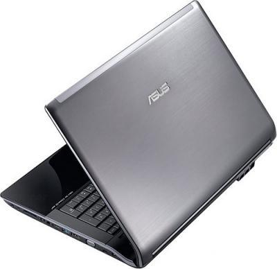 Ноутбук Asus N73SM-TZ072D - Вид сзади сбоку